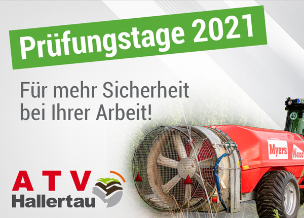 Hopfenspritzen ATV Hallertau