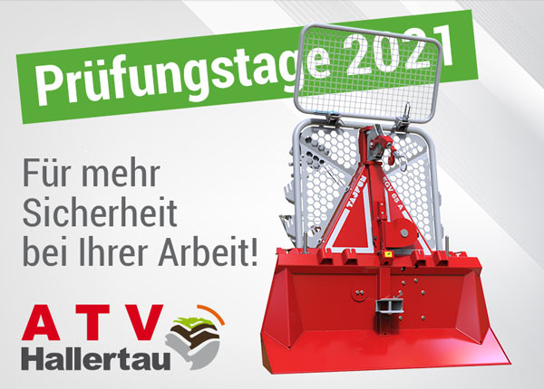 Seilwinden Prüftage ATV Hallertau